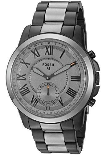 fósil híbrido fósil - q subvención humo - tono stainless