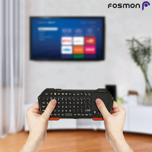 fosmon portable lightweight mini wireless bluetooth keyboar