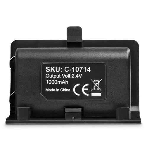 fosmon xbox uno controlador 1000mah recargable batería paqu