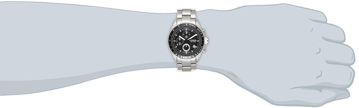 dccf1d906a9e fossil reloj ch2600ie para hombre - plateado. Cargando zoom.