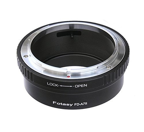 fotasy canon fd lentes para sony a7 a7 ii, iii a7, a7r, a7r