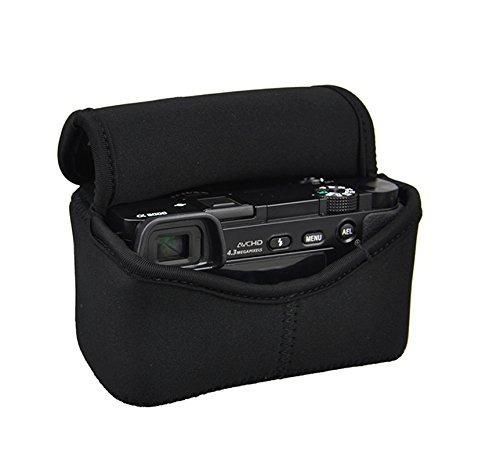 fotasy oc-s1bk black mirrorless camera pouch para sony a6300