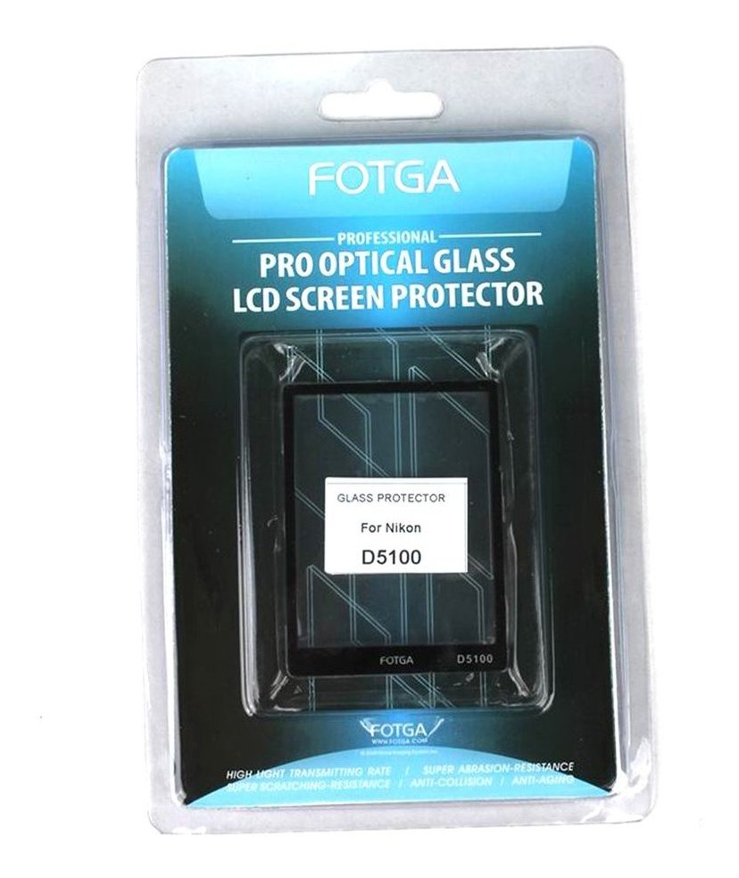 Pantalla LCD de vidrio contra monitor protección cover protector para Nikon d5100