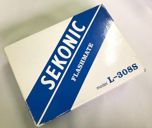 fotômetro sekonic l-308s -  frete grátis!!!