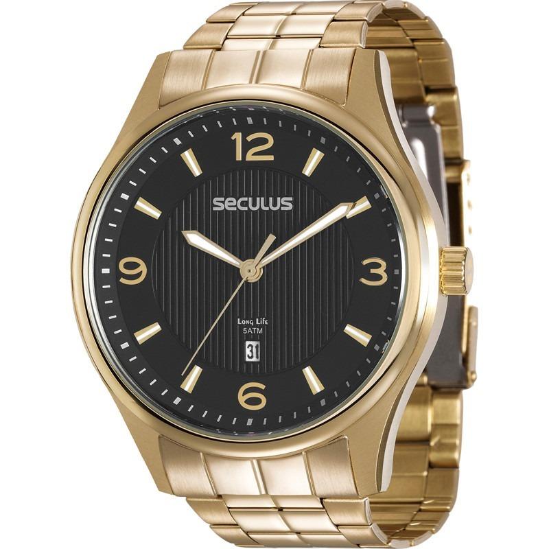 c1e41f847d2 Foto 1 - Relógio Seculus Masculino Long Life 20572gpsvda1 - R  299 ...