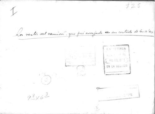 foto accidente en las vias 3/7/1934 la prensa
