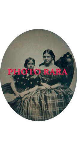 foto antiga-ambrótipo-1/6 de placa-fotógrafo schoonmaker/ny