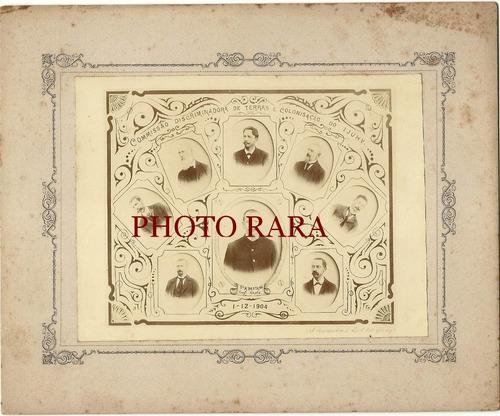 foto antiga - comissão de terras- ijuí-raro