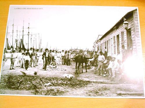 foto antigua de buenos aires la boca del riachuelo 1875
