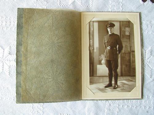 foto antigua de militar (argentina) mide 14x9 cms.