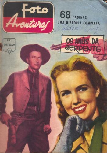 foto aventuras nº 25 - os anéis da serpente jan/1963