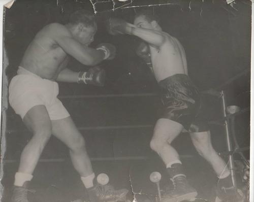 foto boxeo / archie moore vs dogomar martinez 1953