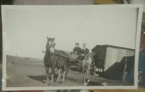 foto campo criollo carro sulky caballo o breu 1933