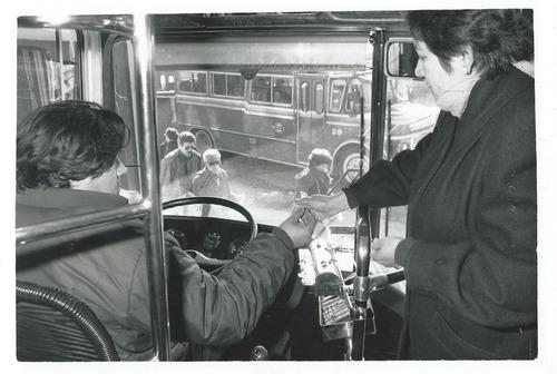 foto colectivo expendedora de boletos 1993 linea 12
