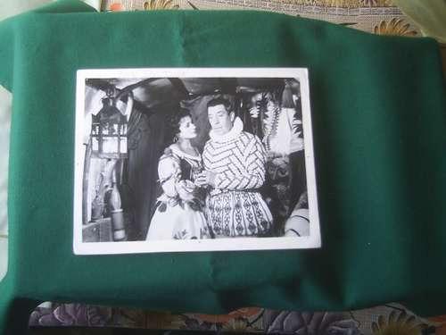 foto de fernandel y carmen sevilla película don juan 1956.