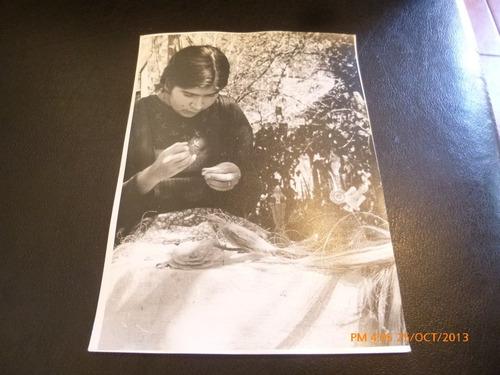 foto de tejedora de cruz (29f
