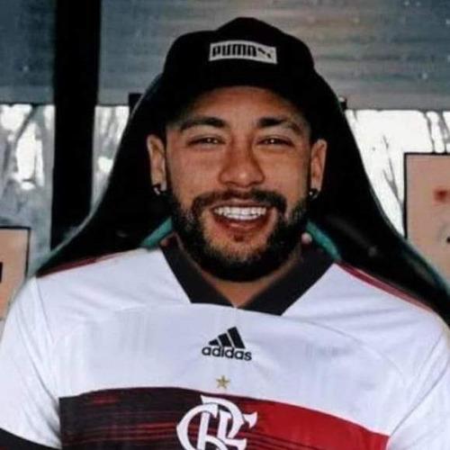 foto do neymar com camisa do mengão