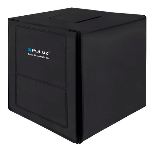 foto estudio caja de fotografia portátil con led - 80 cm