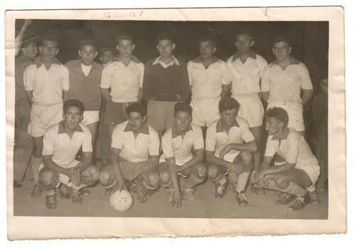 foto futbol amateur 1950 (equipo) - fotografia futbol 1950