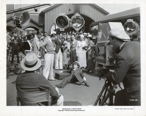foto harold lloyd movie crazy a motion picture sales corp