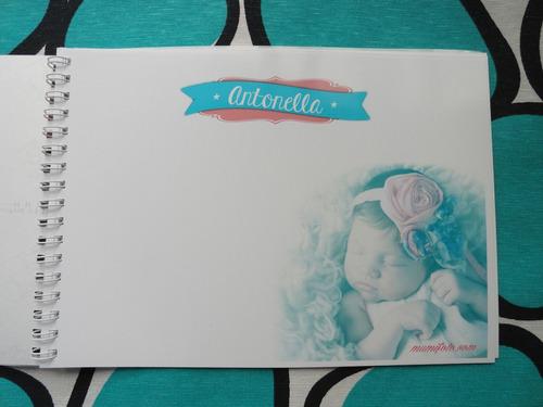 foto libro firmas dedicatoria cumpleaños,bautismo,comunion