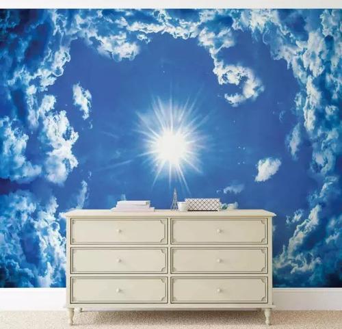 foto mural de nubes
