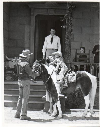 foto original elizabeth taylor rock hudson giant 1956
