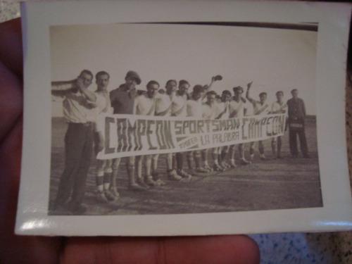 foto original equipo de futbol spotman campeon formacion