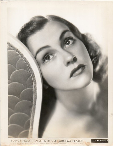 foto original nancy kelly twentieth century-fox player 1938
