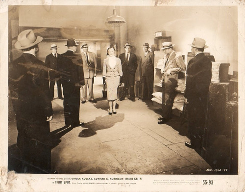 foto original tight spot ginger rogers edward g robinson '55