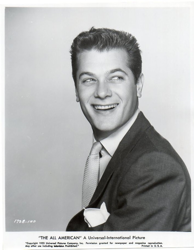 foto original tony curtis the all american universal 1953