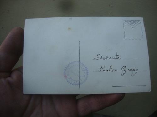 foto postal dama antigua foto francisco malerba mendoza