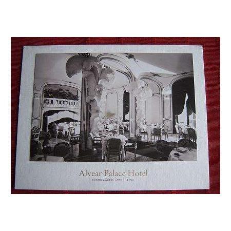 foto postal del hotel alvear 75 aniversario