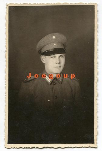 foto postal militar retrato soldado ejercito argentino 1947