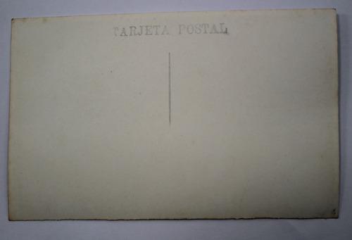 foto postal santiago chile funicular san cristobal mora