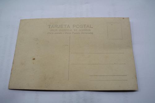 foto postal santiago chile plaza bulnes 1951 . mora