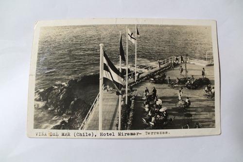 foto postal viña del mar hotel miramar terrazas