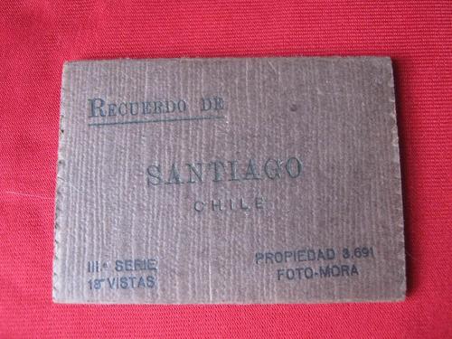 foto postales antiguas, santiago