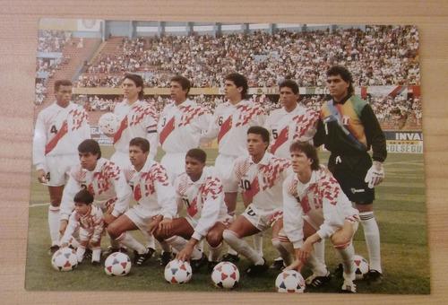 foto seleccion peruana 1993