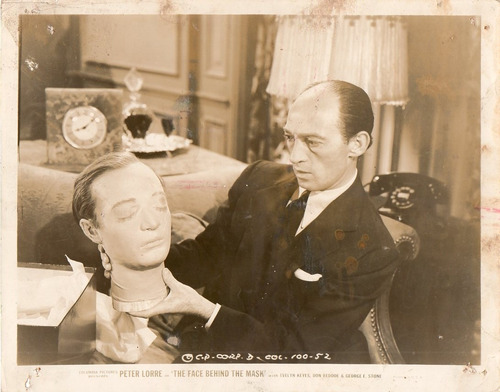 foto the face behind the mask peter lorre don beddoe 1941
