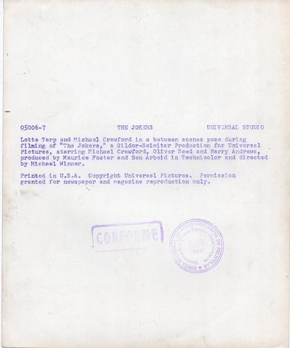 foto the jokers michael crawford lotte tarp oliver reed 1967