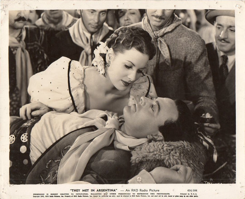 foto they met in argentina james ellison maureen o'hara 1941