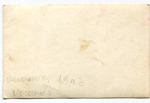 foto tipo postal bañistas playa de necochea 1942