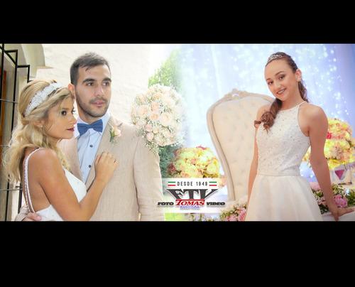 foto tomas video digital - 15 años - bodas - comuniones -