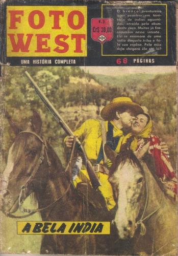 foto west nº 3 - a bela índia dez/1961