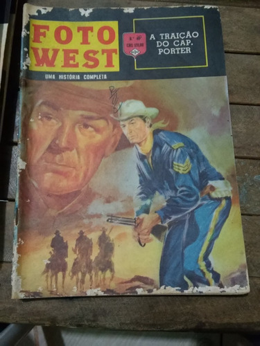 foto west nº20 ed. ediex anos 60 raro