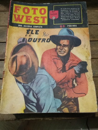 foto west nº7 ed. ediex anos 60 raro