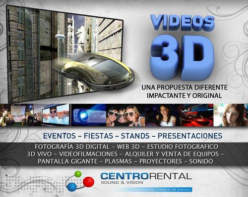 foto y video profesional 3d sociales y empresariales