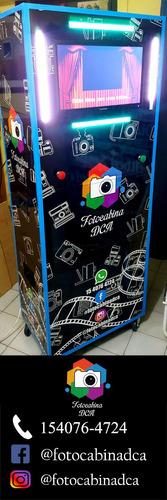 fotocabina - alquiler cabina de selfies fotos 2hs