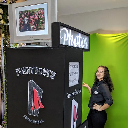 fotocabina alquiler promoción especial 1 hora o 40 sesiones
